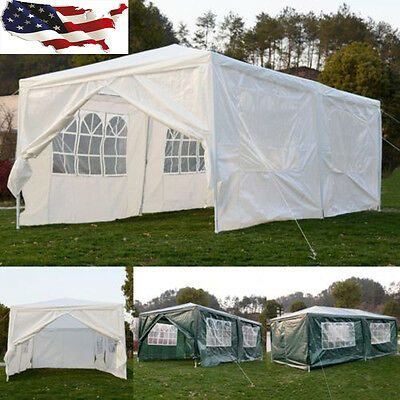 10'x20' Outdoor Heavy duty Canopy Party Wedding Tent Gazebo Pavilion Cater Event