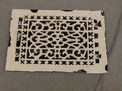 Antique Cast Iron Victorian Heat Grate Register Vent Old Vintage Hardware 612-16