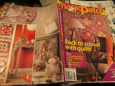 Magic Patch Quilting Magazine Your Choice- #46 OR #51