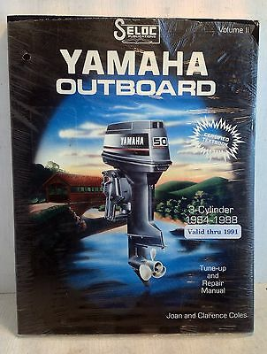 Yamaha Outboard 3 Cyl. 1984-1991 Tune-up & Repair Manual Seloc Vol II (3550)