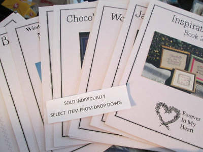 Forever In My Heart Cross Stitch CHART Your Choice