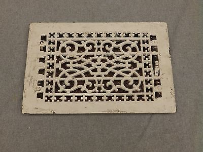 Antique Cast Iron Victorian Heat Grate Register Vent Old Vtg Hardware 623-16