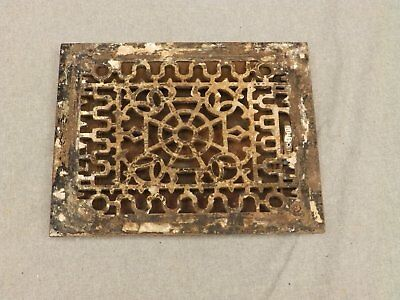 Antique Cast Iron Heat Grate Register Vent Old Vintage Hardware 626-16