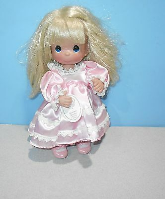 """12"""" Precious Moments Vinyl Doll #4422 Name Your Own Doll Blonde 4th Edition"""