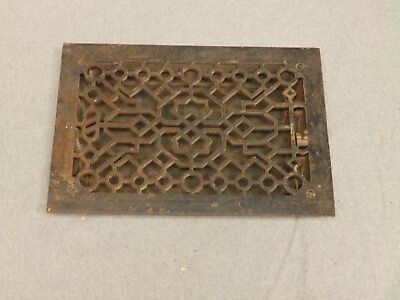 Antique Cast Iron Heat Grate Register Vent Old Vintage Hardware 631-16