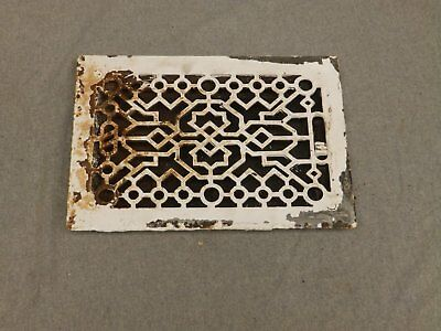 Antique Cast Iron Heat Grate Register Vent Old Vintage Hardware 633-16