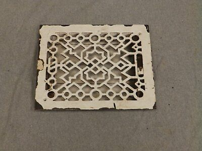 Antique Cast Iron Heat Grate Register Vent Old Vintage Hardware 639-16