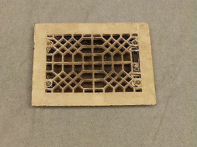 Antique Honeycomb Cast Iron Heat Grate Register Vent Old Vtg Hardware 644-16