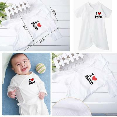 Toddler Infrant Baby Unisex Cotton Romper Bodysuit Playsuit Outfit Clothing 0-6M