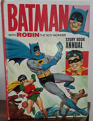 1966 Batman with Robin Story Book Annual