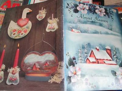 Almost Heaven Country Edition Painting Book #4 (IIII)-Thompson-Snow Scene/Bunnie