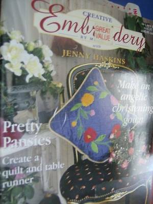 Creative Embroidery By Machine 1998 Magazine V1 #2 Fantasy Cape, Velvet Shawl, P