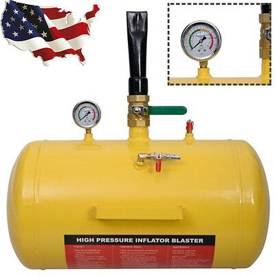 Air Tire Bead Seater Blaster 10 Gallon Tool Seating Inflator Truck ATV 145PSI
