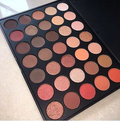 350 Nature Glow DUPE 35 Colour Pigmented eyeshadow palette Best DUPE!