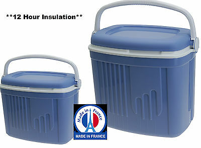 Premium Made in France 32 Litre or 8 Litre Insulated Picnic Cool box Large