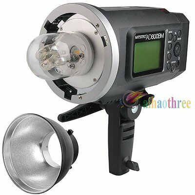 Godox AD600BM 600W HSS 1/8000s Bowens Mount Outdoor Studio Flash Strobe Light
