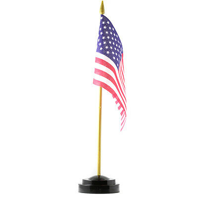 United States of America Desk Flag With Stand