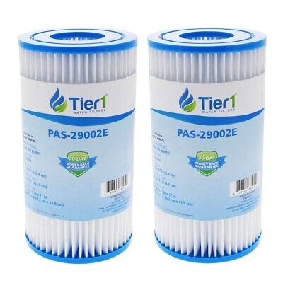 Fits Intex Easy Set Type A Replacement Filter Cartridge 29002E (2 Pack)