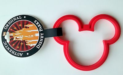 Best of Mickey Mouse Icon Pancake Egg Mold Ring Silicone Disney Theme Parks NEW