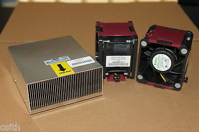 HP ProLiant DL380 G6 / G7 Heatsink Spare 496064-001 + 2 x FAN Spare 496066-001