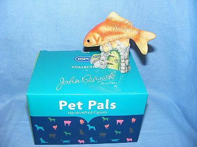 John Beswick Goldfish JBDP2 New Boxed Figurine Birthday Present Gift RSPCA Pet