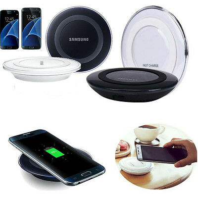 Qi Wireless Fast Charging Charger Pad For Samsung Galaxy S7/ S7 Edge/Note 5 New