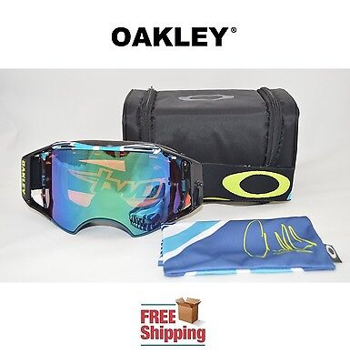 Oakley® Airbrake™ Prizm™ Goggles Mx Atv Motocross Motorcycle Chad Reed Mirror