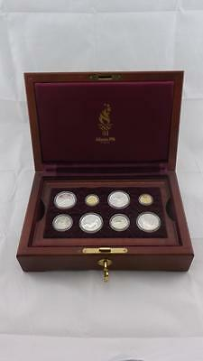 1995-1996 Atlanta Olympic Proof Gold & Silver Dollar 16 Commemorative Coin Set