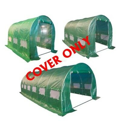 FoxHunter Replacement Polytunnel Greenhouse Pollytunnel Poly Tunnel Cover