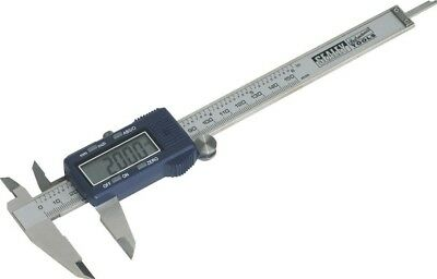 Sealey Digital Vernier Calliper 0-150mm/0-6""