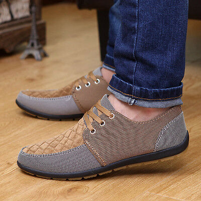 New 2017 canvas shoes breathable casual shoes fashion men's sneakers lace up