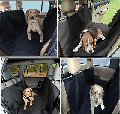 Car Rear Back Seat Cover Pet Dog Protector Boot Mat Liner Waterproof Uk Seller