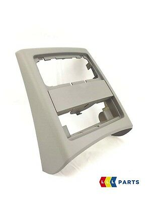 Bmw New Genuine 3 Series E90 E91 05-12 Rear Center Console Grey Cover 7145682