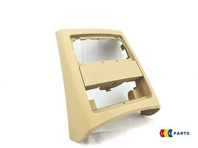 Bmw New Genuine 3 Series E90 E91 05-12 Rear Center Console Beige Cover 7145683