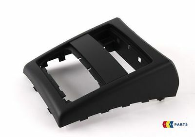 Bmw New Genuine 3 Series E90 E91 05-12 Rear Center Console Black Cover 7145681