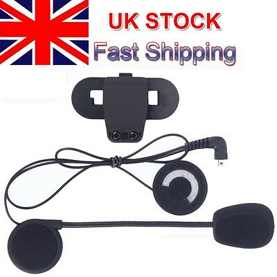 BT Motorcycle Helmet Earphone/Mic Mount  Bluetooth Headset TCOM series Intercom