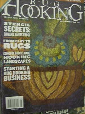 Rug Hooking Magazine March/April/May 2007 Spring Sheep Free Pattern/Instructions