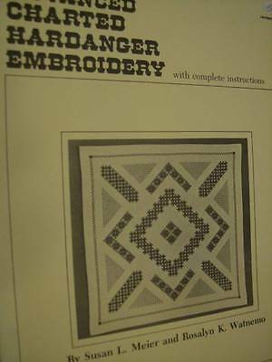 Advanced Charted Hardanger Embroidery Instruction Book- Susan Meier & Rosalyn Wa