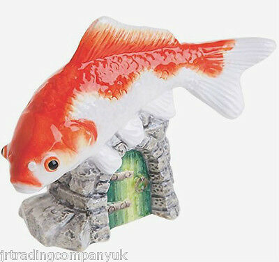 John Beswick Goldfish Orange & White Ornament (JBDP3) RSPCA Collection NEW