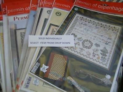Permin Stickmuster Museum Sampler Cross Stitch Chart-Your Choice- 1809 Daniel, 1