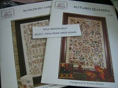 Rosewood Manor Sampler/Stocking Cross Stitch Chart- Your Choice