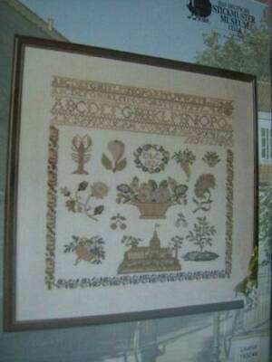 Permin Stickmuster Museum Sampler Cross Stitch Chart-Your Choice- Biedermeier OR