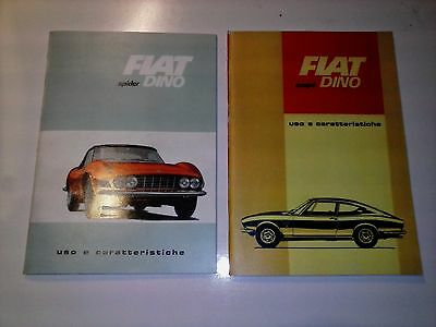 FIAT DINO OWNERS MANUALS Repro