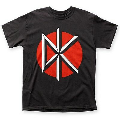 Official Dead Kennedys DK Logo with Black Punk Band Symbol T-shirt S-3XL top