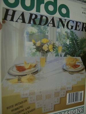 Special Burda Hardanger E126 Craft Magazine All Designs Shown