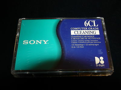 Sony 6CL 12 cleanings 8mm D8 Cleaning Cartridge 6m 22 feet