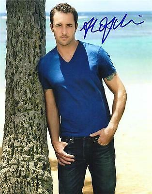 Alex O'Loughlin ++ Autogramm ++  Moonlight ++  Hawaii Five-0 ++ The Holiday