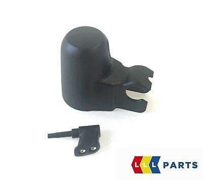 BMW GENUINE E81 E87 1 Series 04-12 NEW REAR WIPER WASHER JET AND ARM COVER CAP