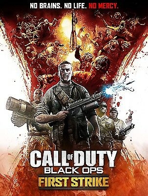 """Call of Duty Zombies Black Ops First Strike Poster Sizes 13x20"""" 24x36"""" 32x48"""""""