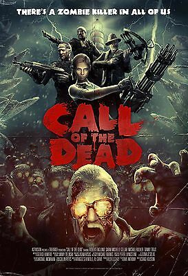 """COD Black Ops Call of The Dead Zombie Poster Deco Art Size 13x20"""" 24x36"""" 32x48"""""""